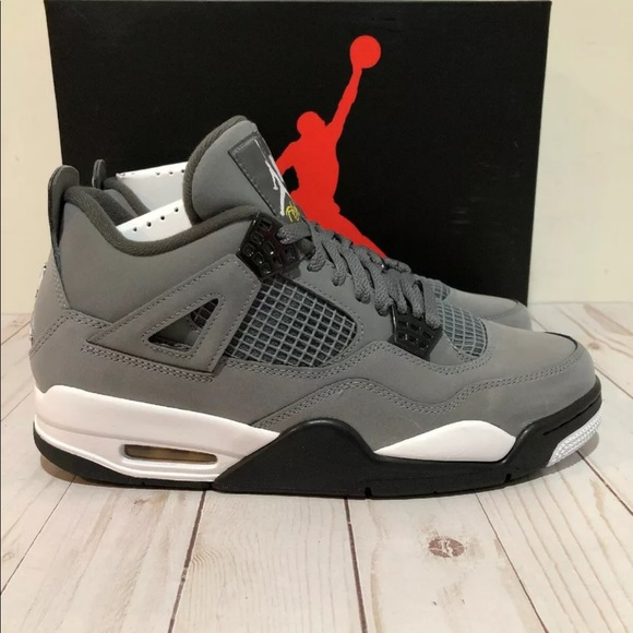 Nike Other - 2019 Nike AIR JORDAN RETRO 4 COOL GREY 308497-007